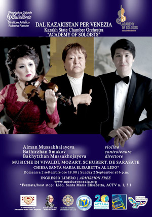 Concert from Kazakhstan for Venice